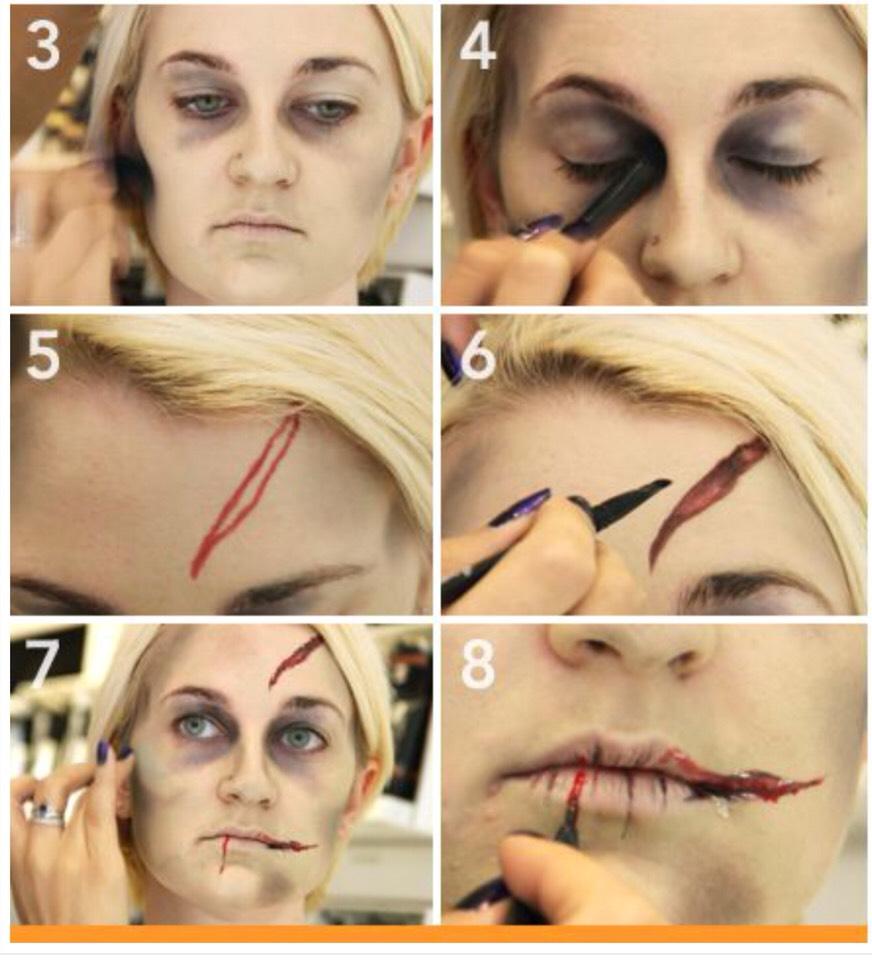 super cool halloween makeup ideas detailed tutorials included halloweentip - Halloween Makeup For Beginners