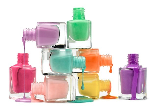 Nail varnishes are a great gift to put in these jars, you can't really go wrong with them 💅