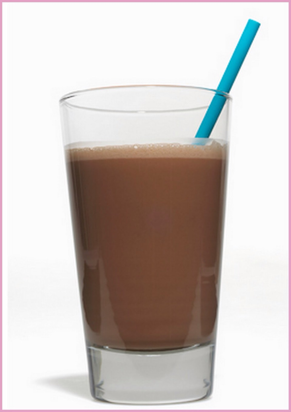 Chocolate milk :) -6 ounces if skim milk  -2 teaspoons of chocolate syrup