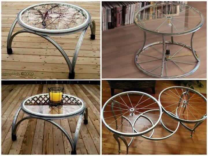 Musely for Bicycle wheel table
