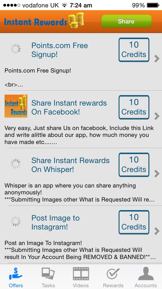 You get rewarded by completing short surveys and tasks and its free to download !!