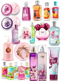 Bath and body works products- girly or any