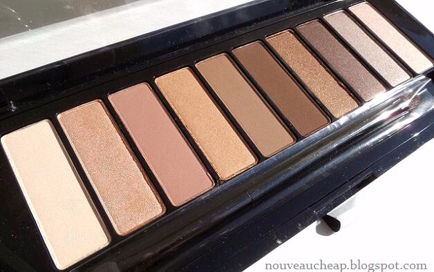 L'Oréal Riche Eyeshadow Palette-use everyday and it has many colors so you have options