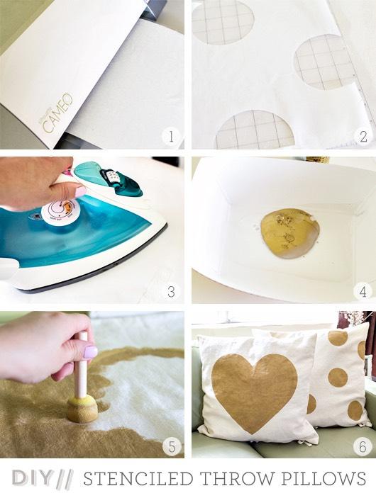 Make cute pillows