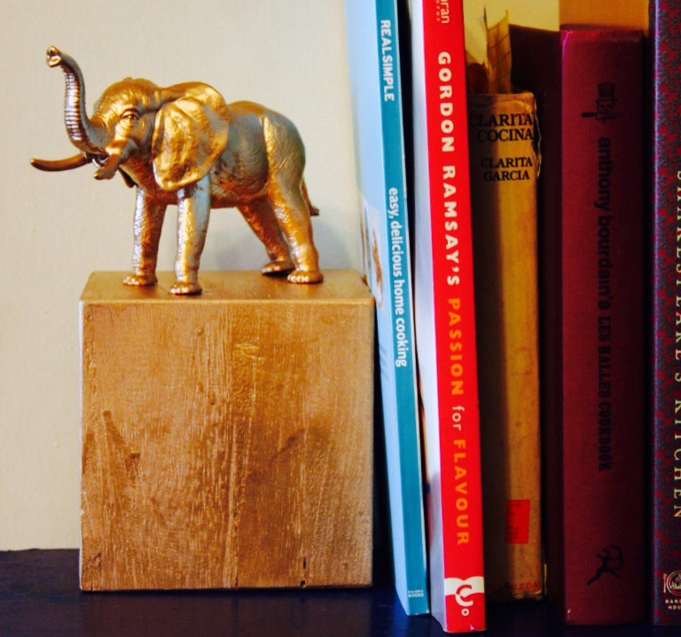 Is your bookcase looking a little blah? Forget photo albums and that collector's addition of The Great Gatsby, these animal bookends are about to be your favorite item on the bookshelf. Go wild and make these DIY animal bookends in just a few simple steps.