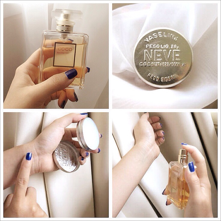 Rub Vaseline on the areas you wish to apply perfume!!! This will make it last much longer