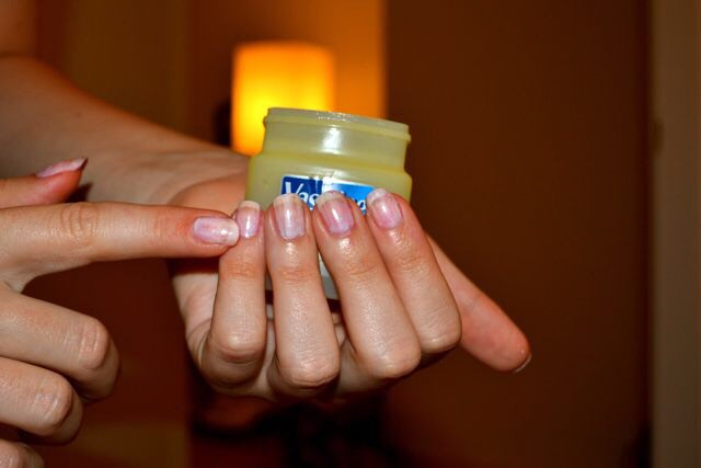 Put some on your cubicles you will have Healthy nails they will grow to