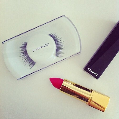 Makeup!its an essential for all girls buy Chanel and Mac for etc.(check her skin tone and the shades she uses,take a sneaky peek in her makeup bag)