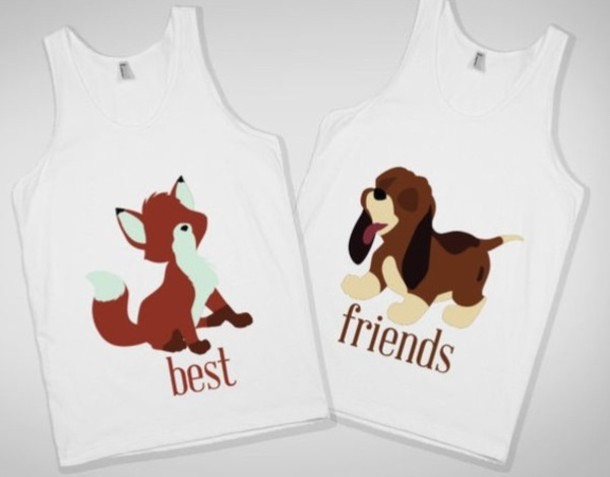 Get you and your bestfriend stuff. There are lots of things to get. Shirts, necklaces, bracelets, and a lot more! Show your bestfriend you love her so much. (As a bestfriend). Usually when you and your bestfriend get each other stuff you become closer and you have a stronger friendship.