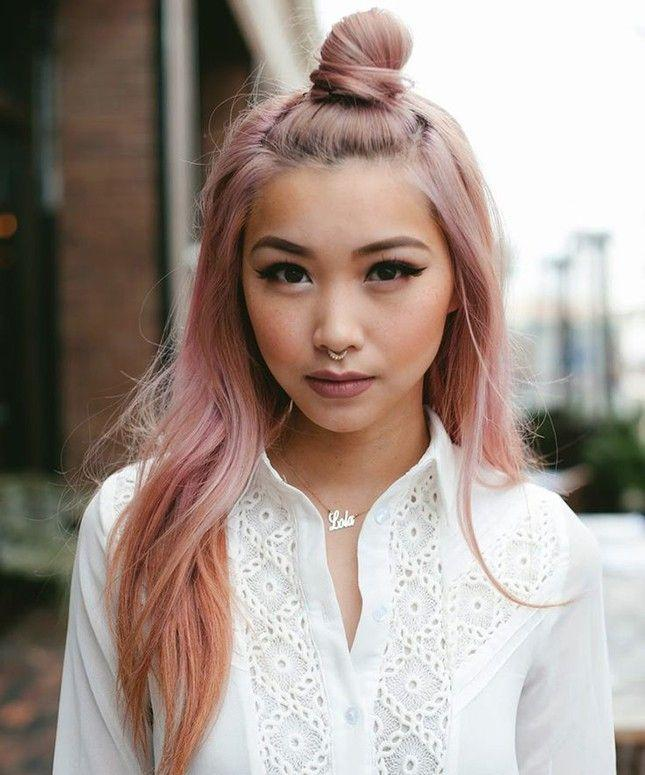 4. Pretty in a Pink Bun