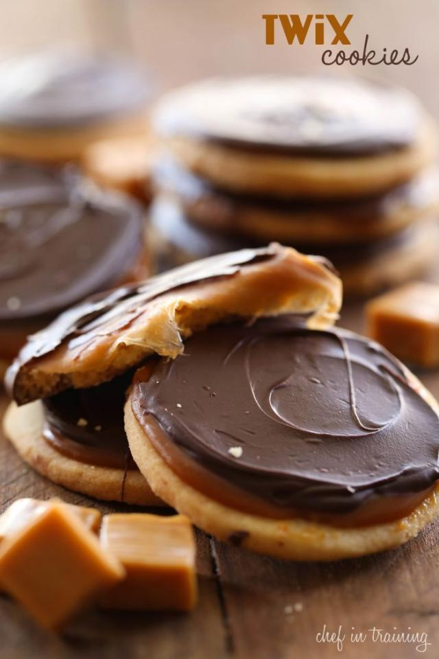 This recipe as three simple parts: The cookie, the chocolate, and the caramel in the middle. You will LOVE how these turn out! Ready to learn how? Let's jump right in. >>