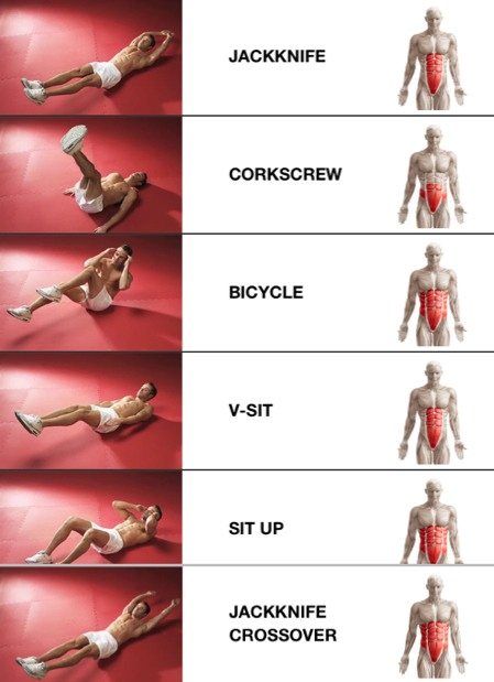 8 reps of each then 10 reps of each