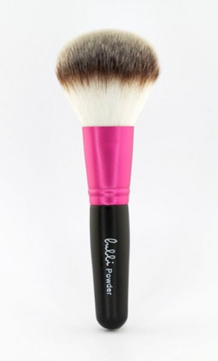 Powder brush to brush on your baby powder.