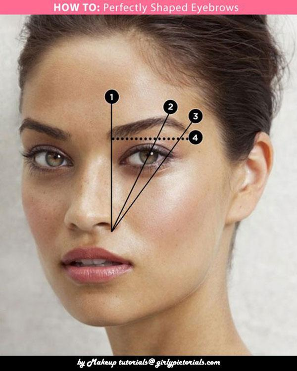 Eyebrow shaping is not a venture to embark on blindly. We cover all the Perfect shape eyebrow pictorial  you need to know to get awesome look – at home!Don't forget to try this easy Eyebrow idea.More @ http://girlypictorials.com/