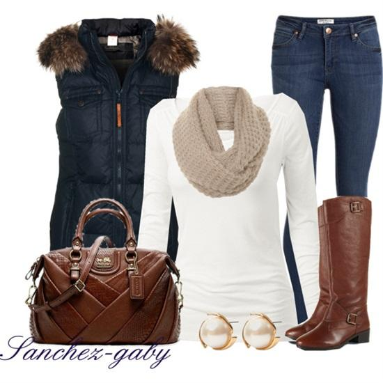 3. Simple & Casual Winter Outfit Idea