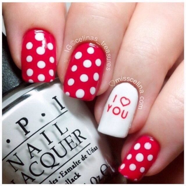 valentine nails design musely 31014