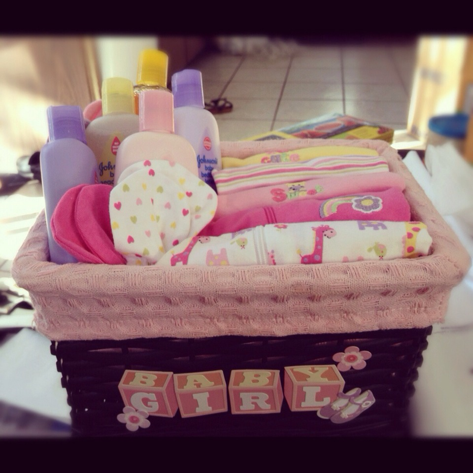 Another easy but cute basket for a baby!!