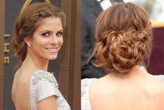 Sorry this picture is blurry but this stunning braided bun is sure to get u compliments and isn't as hard as it looks!