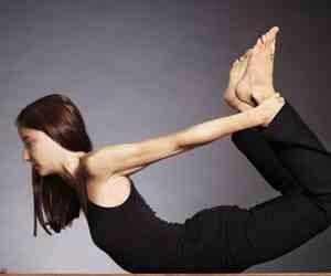 Try doing some yoga poses but watch out not to hurt yourself. If you think you can't do it then don't force yourself as you'll probably hurt your muscles ----->>>