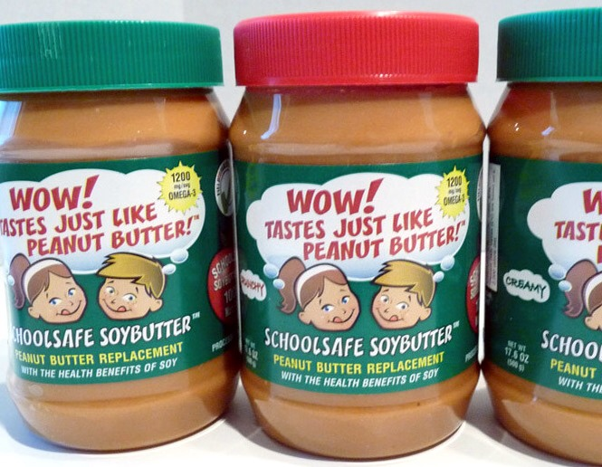 For the people who are allergic to peanut butter.