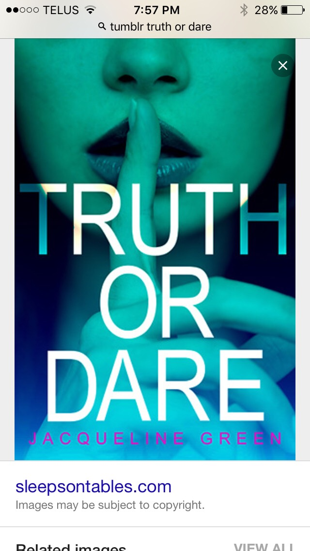 By now it should be late and I know buy now me and my friends are really giggley so play a game like truth or dare