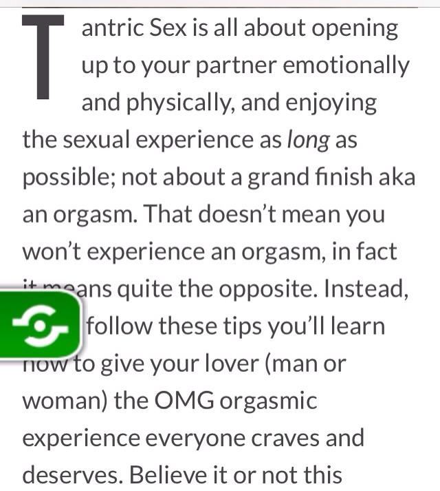 Kvinnlig orgasm tips