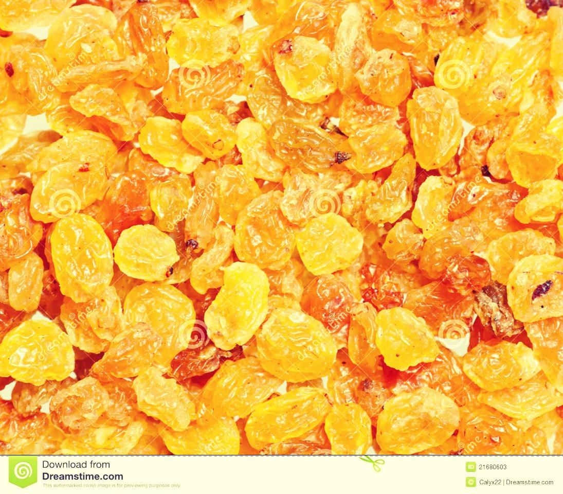 Add golden raisins to taste.