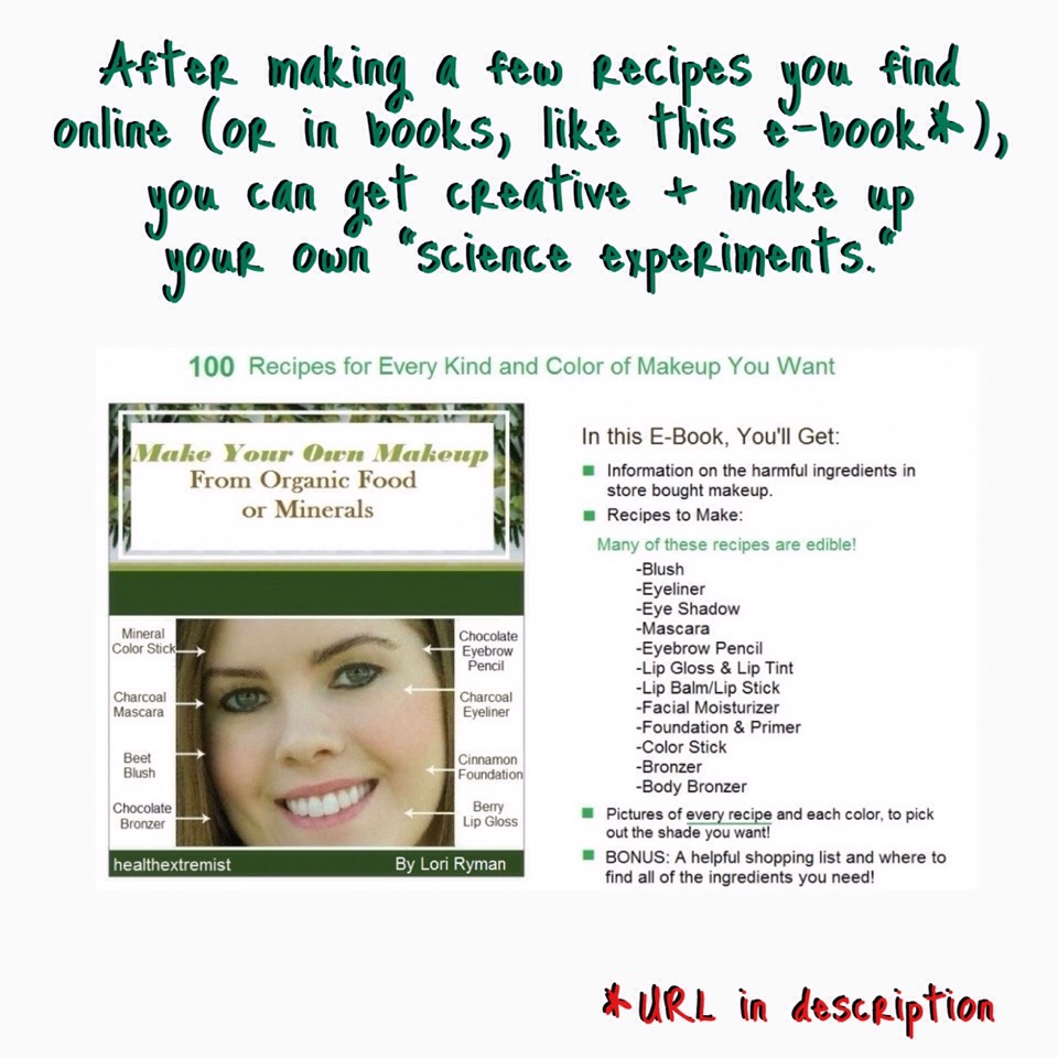 You can find the e-book here | www.healthextremist.com/make-your-own-makeup-naturally/