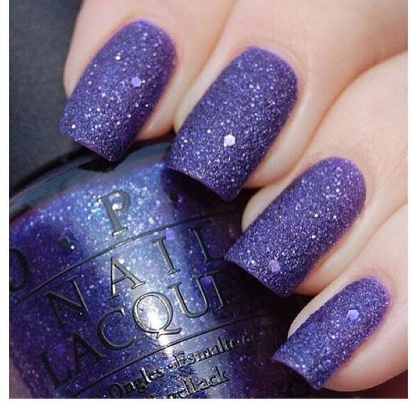 Popular purple nails 💅🏼