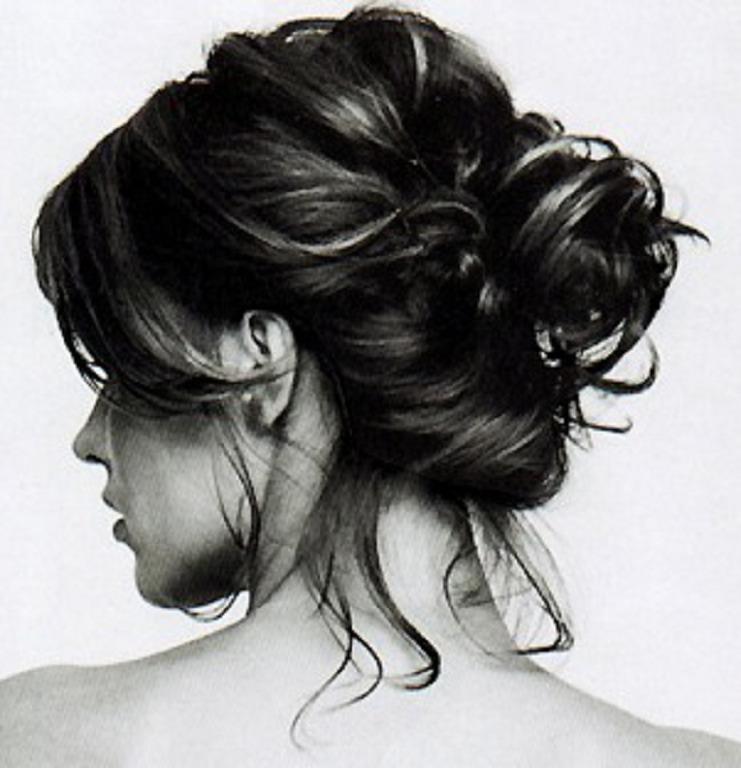 Wear ur hair in a bun before u go to bed!
