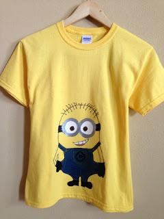 And you'll have a cute Minion t!