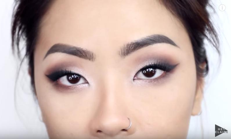 The finished look. Enjoy your beautiful new smoky eye!