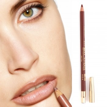 Line your lips with a brown lip liner to create a plump effect and blend the lip liner inwards.   Have a great day!!