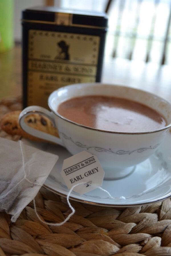Drink and enjoy!!  I hope you try this Earl Grey hot chocolate.  I felt like the tea really mellowed the chocolate flavor.