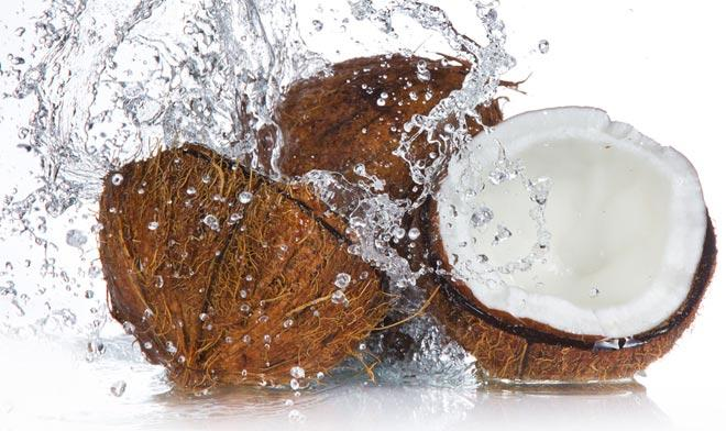 2- Coconut Water  Coconut water is extremely hydrating, not only for the body, but for the skin too. Drinking coconut water hydrates and plumps up your skin.
