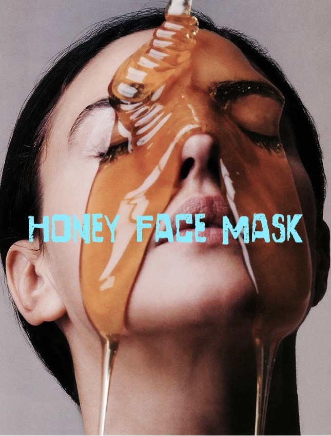 HONEY FACE MASK | Soft, beautiful skin can be yours with this easy + affordable DIY face mask. Honey is a natural anti-bacterial that helps kill acne, while also healing scars. Simply rub raw, organic honey gently on your face, spreading a thin layer. Leave the mask on for up to 10 minutes, + then rinse with warm water. Ta-da!