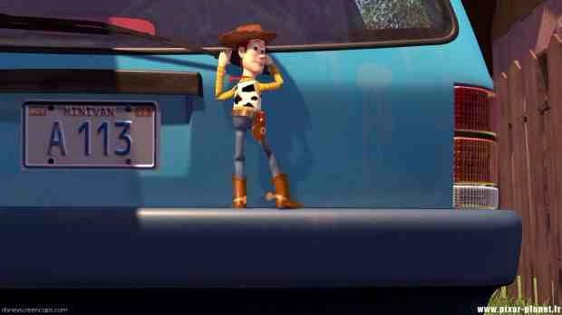 """The first time we saw it was in """"Toy Story"""" on the license plate of the Pizza Planet truck."""