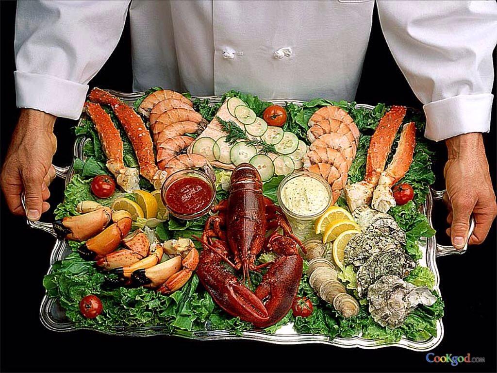Морепродукты их польза диета