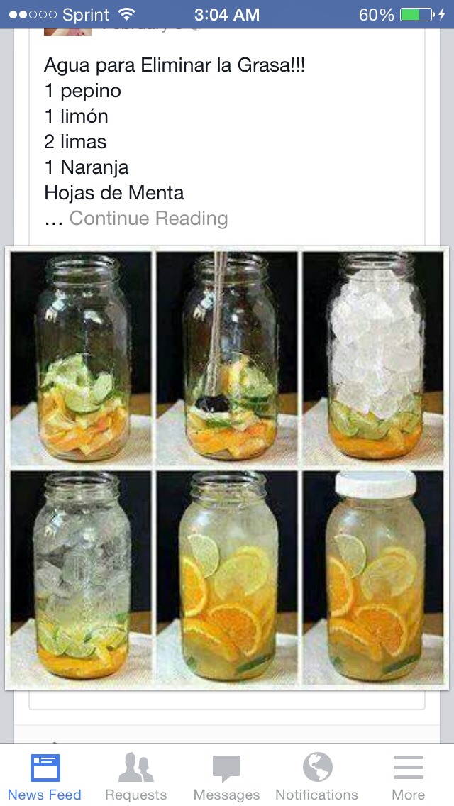 One lime  One lemon One orange  One medium cucumber  10 to 15 mint leafs  Add water and leave over night drink every day for weight loss.  Diet and exercise for best results