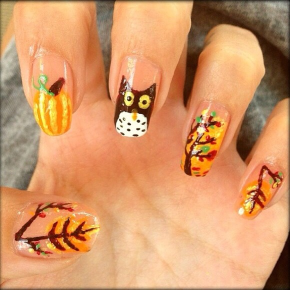 Gorgeous Autumn Inspired Nails: Musely