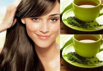 --> HAIR: apply green tea on your hair too because it soothes dandruff, reduces hair loss and increases hair growth.