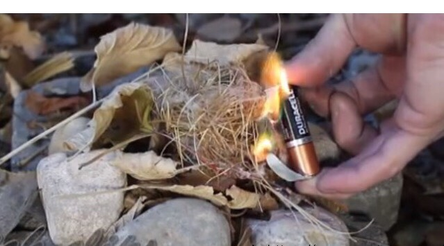 Dry scraps are great fire starters. This could save your life in a pinch!
