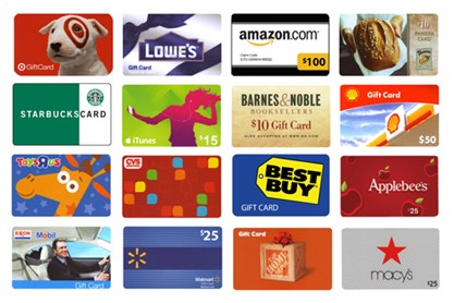 Gift cards duh!!! Every store offers gift cards and without a doubt they make the best gifts.