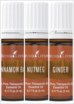 INGREDIENTS 1 cup sugar (I use an organic cane sugar) 1/4 cup oil of choice (I use coconut oil or olive oil) 2 tablespoons raw honey 8-10 drops each of cinnamon, nutmeg, and ginger essential oils INSTRUCTIONS Combine all ingredients Store in a glass container Use as a full body scrub to exfoliate
