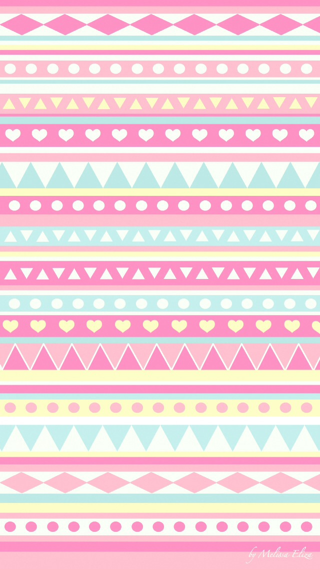 Cute Pink Aztec Background Xxx