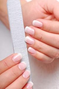 9. File your nails in one direction only. Use a 240 grit filer if you want to file your nails and don't use metal filers as they are harmful for your nails.