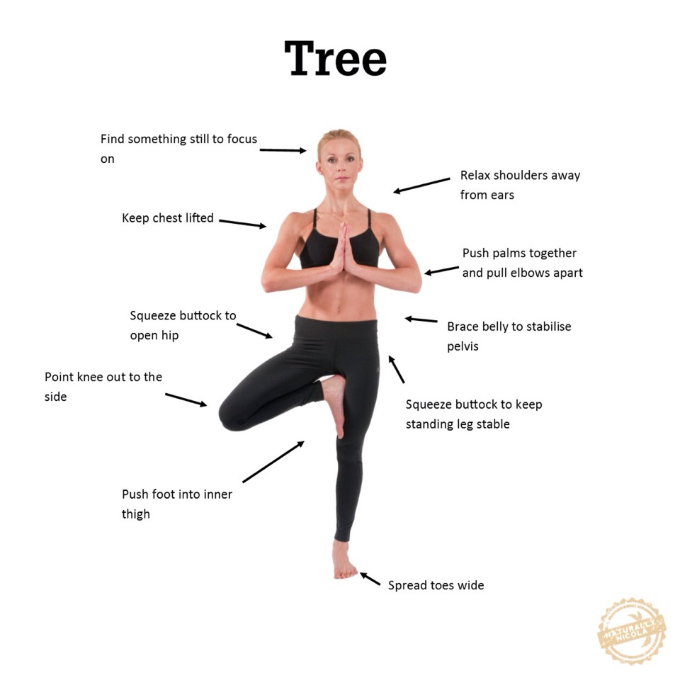 Sinceyou're on one leg, it requires balance + core strength, which should motivate people to practice tree and other balancing yoga poses, says Jessica Walsh,a yoga instructor.