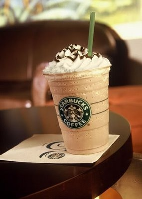 White chocolate mocha frapp. This is SO good! I definitely recommend you to get this!