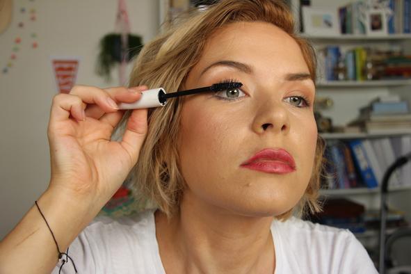 step 2 - apply mascara