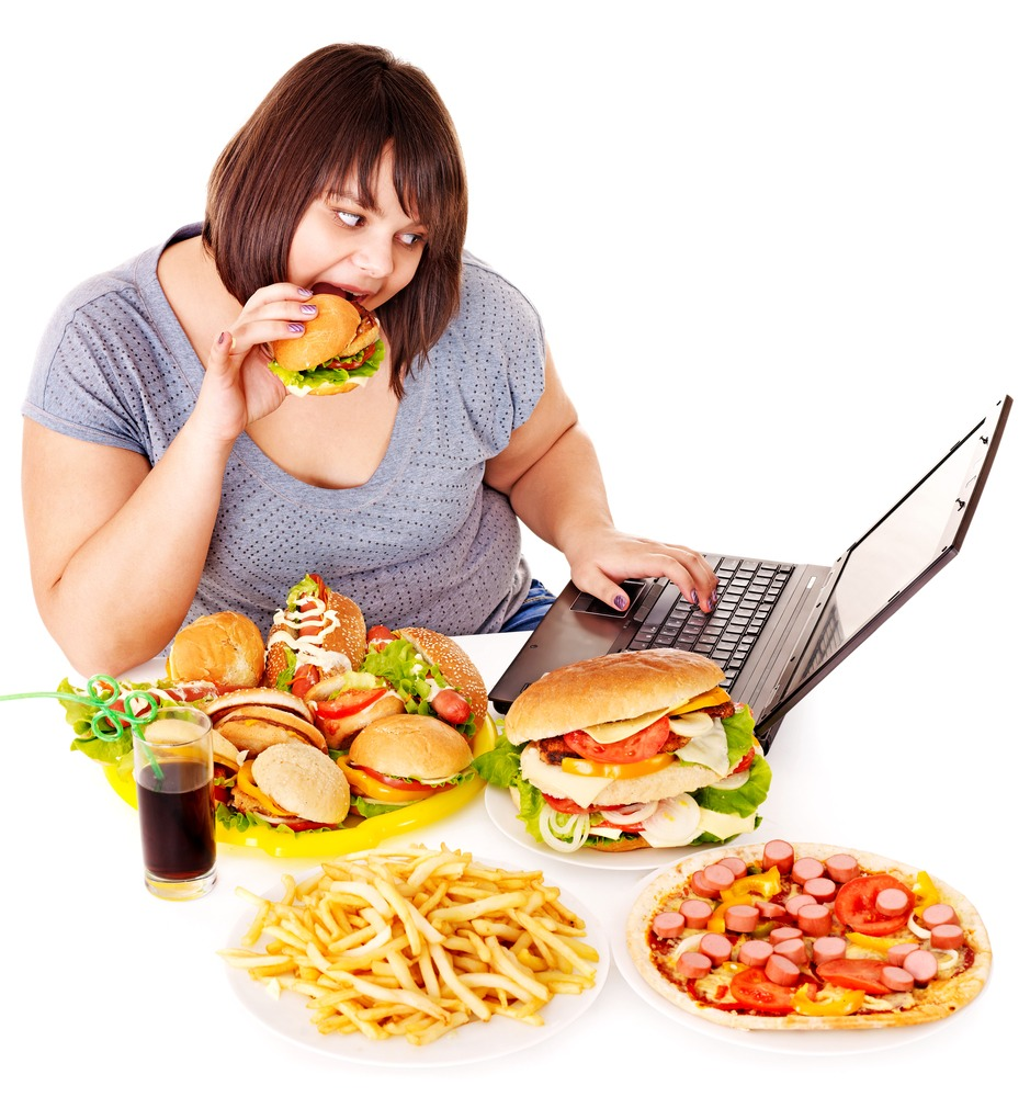 """As your eating your unhealthy cravings and you find it so delicious that you just can't stop eating it. Just make a quick action and pour your drink or just something gross on top of your food and you won't even think about finishing it because your """"food"""" is ruined. Just ruin the hell out of it"""